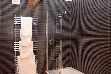 The stylish en suite bathroom for Bedroom 2.