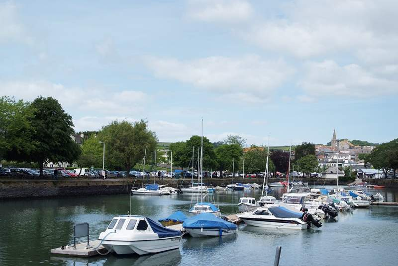 Kingsbridge is a short drive and has a wealth of interesting shops and a market on two or three days of the week.