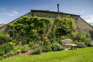 A carefully placed bench has been placed behind Leigh Barn for your extra comfort and enjoyment when soaking up these amazing surroundings.