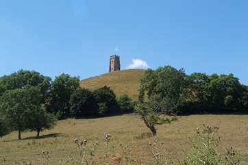 Glastonbury Tor - the energetic climb to the top is well-rewarded with views across the whole of Somerset.