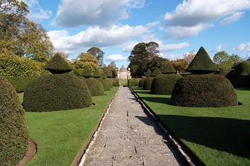 If you like visiting historic houses and gardens you will be in for a treat in this part of Somerset. This is Lytes Cary.