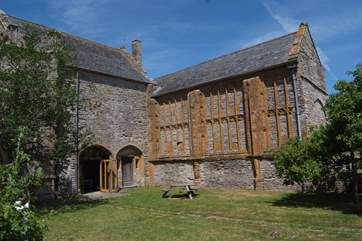 Muchelney Abbey is very close by. This part of Somerset has such a rich history.