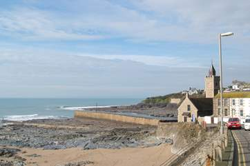 You can walk to Porthleven from nearby Helston following the path around Loe Bar lake and along the coast path.