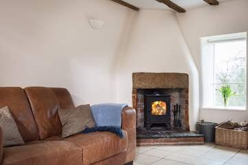 Sit by the wood-burner with a good book or just to chat about the wonderful places you have explored today.