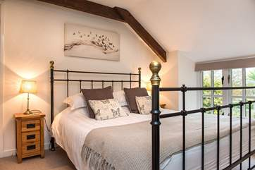 All the bedrooms are beautifully presented