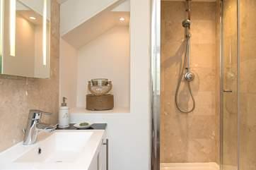The en-suite shower room to bedroom 2