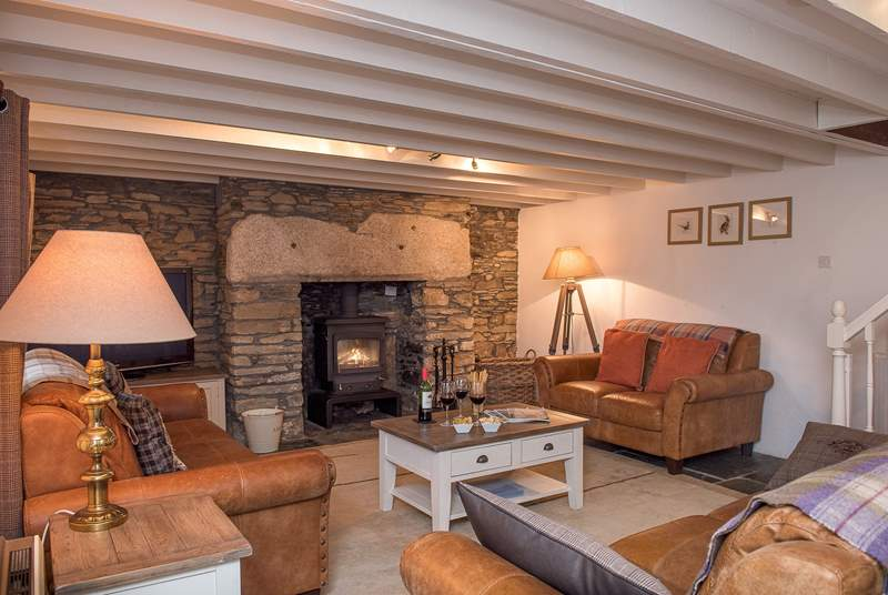 The Old Farmhouse is full of charm and character and beautifully furnished throughout
