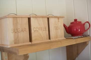 From tea caddy to tea pot...