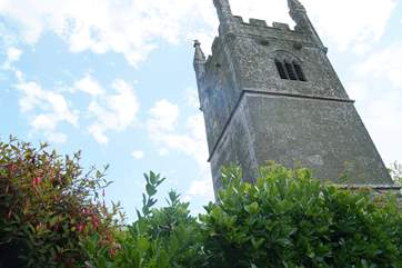 The pretty church.