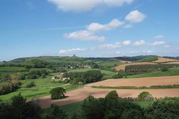 This is another iconic West Dorset landmark – Colmer's Hill at Symonsbury just outside Bridport.