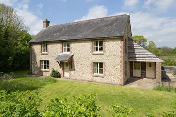 Beech Cottage is surrounded by tranquil Dorset Countryside.
