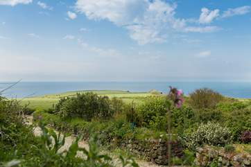 Enjoy the ever-changing views of sea and sky from most rooms in the house and throughout the gardens.