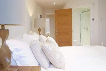 This bedroom has an en suite shower-room.