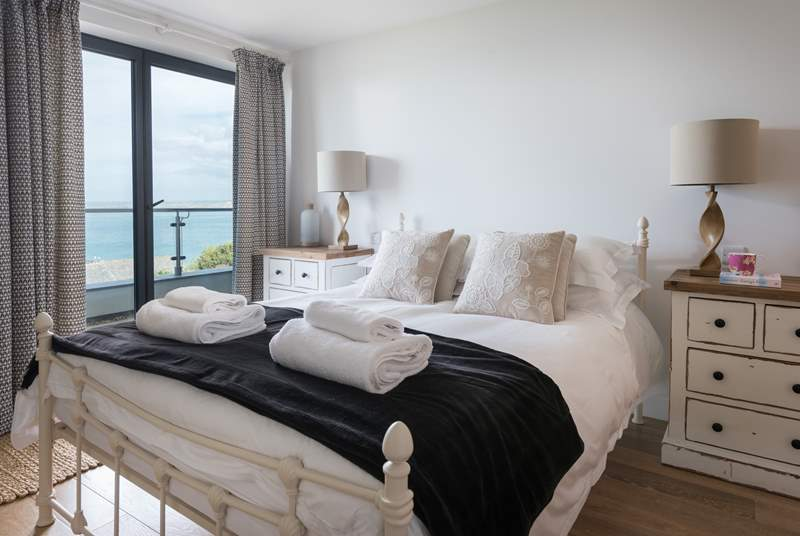 Wake up to sea views.