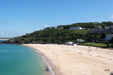 Morwenstow overlooks the gorgeous Porthminster beach.