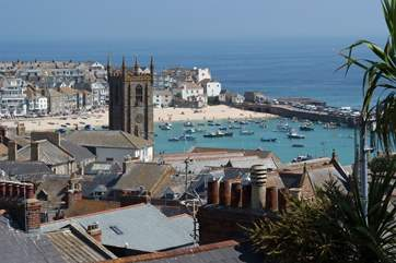 St Ives town.