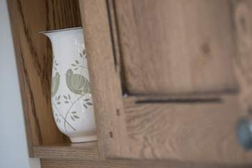 Lovely touches throughout the yurt.