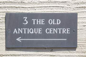 The Old Antique Centre is in the heart of Colyton, a really pretty and historic little town.