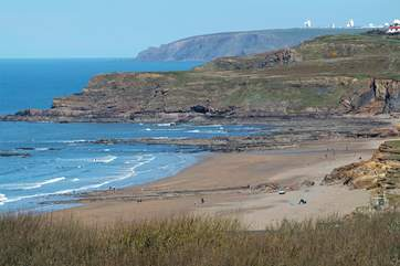Widemouth Bay.