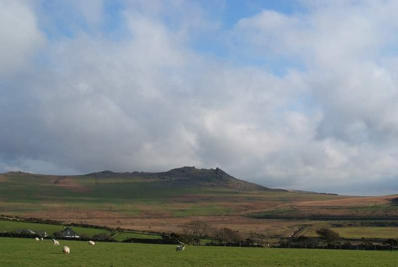 There are fabulous walks to be had on nearby Bodmin Moor.