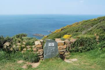 The coast path walks in the surrounding area are stunning.