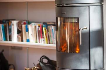 A roaring wood-burner will keep you warm as well as full under-floor heating.