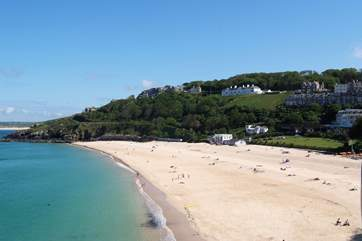 St Ives has stunning beaches and is only 10 miles away.