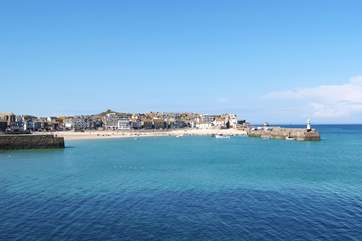 The wonderful sea and beaches in the area are second to none.