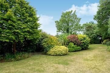 The delightful garden