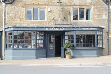 In the nearby viallage of Beaminster, Brassica is great for a little holiday indulgence.