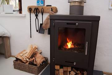 A roaring wood-burner to keep you cosy and warm.