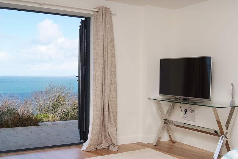 Television, or sea views?