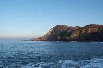North Devon has a stunning coastline, cliffs, coves and long sandy beaches.