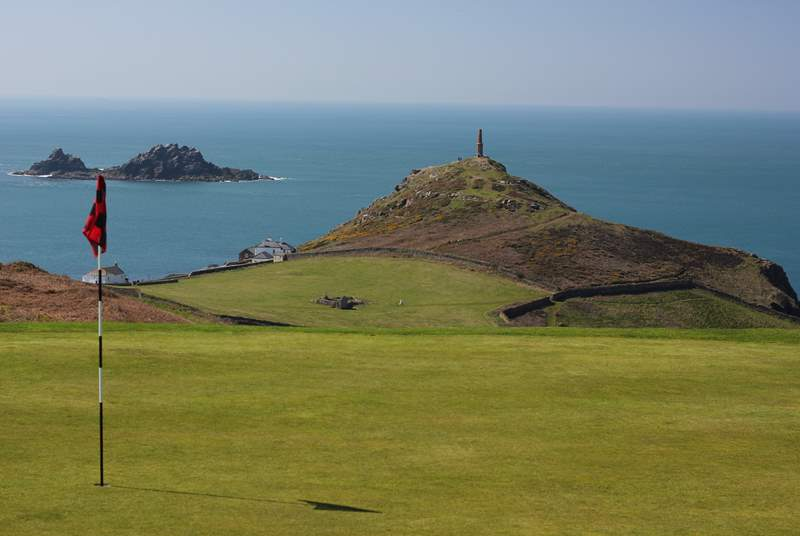 There is a spectacular 18 hole golf course at Cape Cornwall, just two miles away.