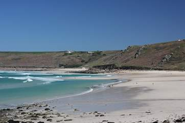 Sennen Cove is just three miles away.