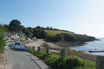 The Ferry Boat Inn at Helford Passage is well worth a visit, here you can join the coastal footpath or take the ferry across to Helford village.