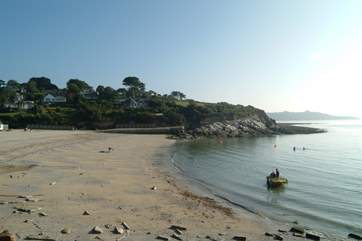 The lovely beach at Swanpool is within a 20 minute drive.