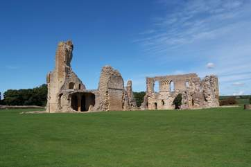 Sherborne old castle is the ruin of a 12th Century castle.