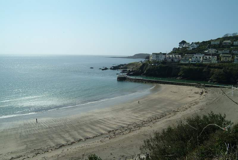 Looe will offer you a day of traditional seaside fun.