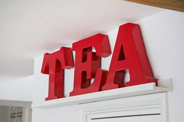 A cuppa is always welcome!