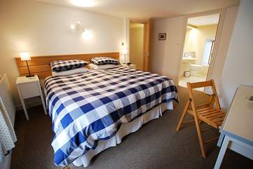 The double bedroom has a lovely en suite shower-room.