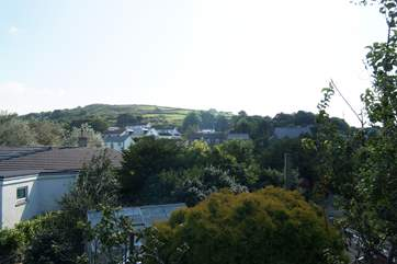 The Lilypad sits in in the valley at Higher Brea on the outskirts of Camborne, the Red River runs through the village.