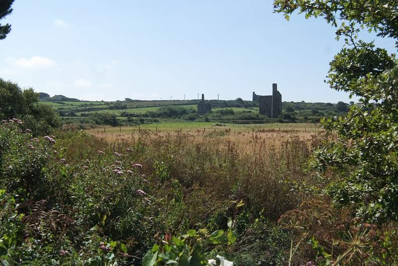 The surrounding area is scattered with the old engine houses from the rich mining history in this area.