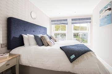 Comfortable beds, luxury linens and quality soft furnishings all add up to a very good night's sleep.