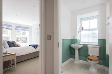 Bedroom 2 has a bathroom next door with Jack and Jill doors into both the bedroom and living-room for added convenience.