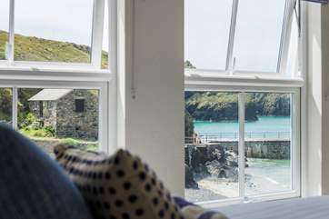 The view from your bed is rather special.