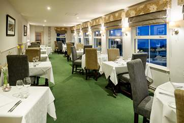 The Atlantic View restaurant.