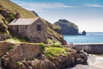 You might just fall in love with Mullion Cove.
