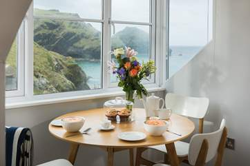 You may find it hard to take your eyes away from the views so your coffee may go cold!