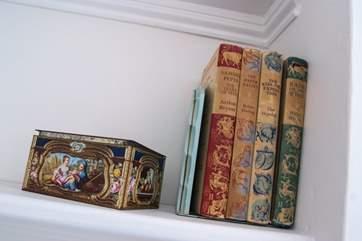 Original classic books to leaf through...